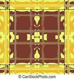 grunge brown yellow ceramic tiles