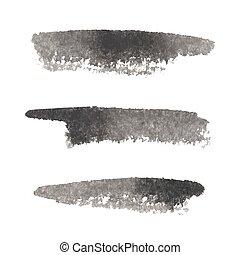 Grunge Brush Stroke set