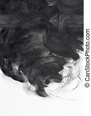 grunge brush strokes paint design