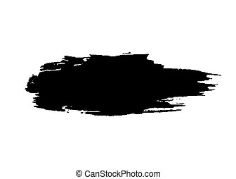 Grunge brush texture smear - Grunge brush texture white and ...