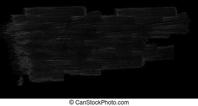 Grunge brushstroke animation on a black background