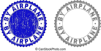 Grunge BY AIRPLANE Textured Stamp Seals