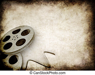 grunge, carretes de película