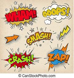 Grunge Cartoon Sound Effects Set2