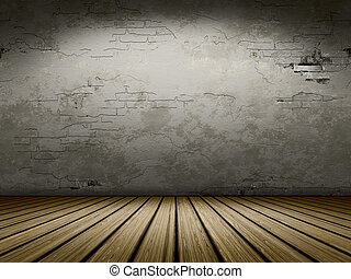 grunge cellar background - An image of a nice empty cellar ...