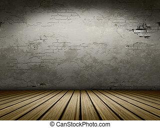 grunge cellar background