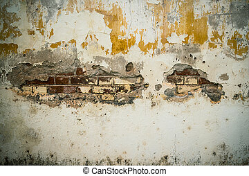 grunge cement crack wall background and texture