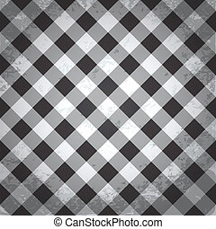 Grunge checkered background
