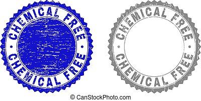 Grunge CHEMICAL FREE Textured Watermarks