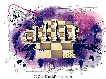 grunge chess