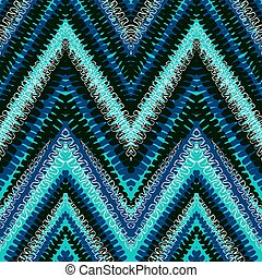 Grunge chevron abstract vector pattern