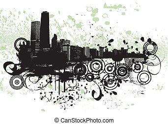 grunge, chicago