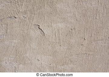 grunge, cimento, parede