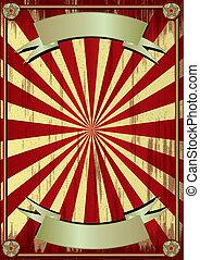 grunge circus background - Grunge background to make use of...