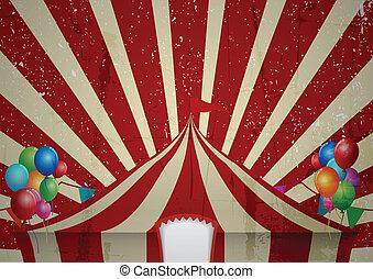 Grunge Circus tent