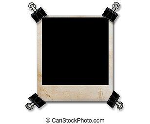 grunge, clipisolate, papier, lege, black , 4, frame, foto