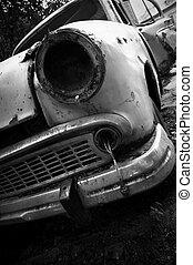 grunge, coche