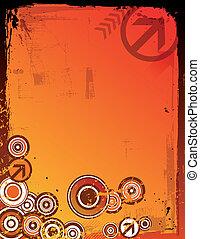 Grunge Color Background