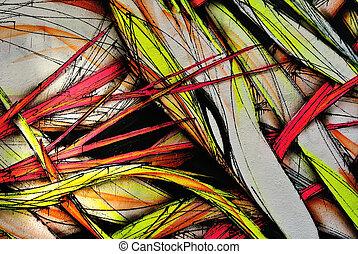 Grunge colorful background, graffiti wall