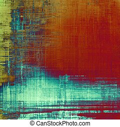 Grunge colorful background or old texture for creative design work. With different color patterns: yellow (beige); blue; red (orange); cyan; pink