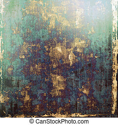Grunge colorful background. With different color patterns: yellow (beige); brown; blue; green