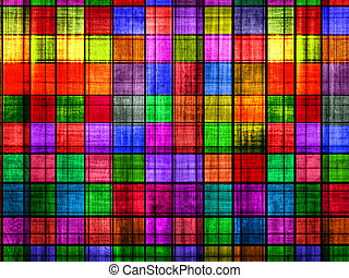grunge colorful chessboard background