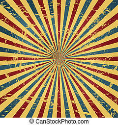 Grunge Colorful Circus Background