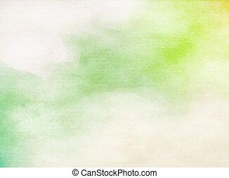 grunge, colorido, watercolor., textura, fondo., suave