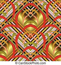 grunge, coloridos, pattern., seamless, vetorial, listrado, 3d