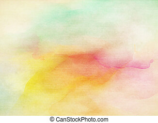 grunge, coloridos, watercolor., textura, experiência., macio