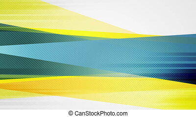Grunge concept bright stripes abstract motion design....
