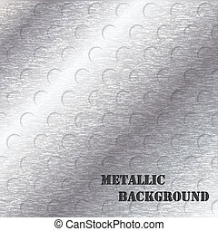 grunge, conception abstraite, fond, métallique