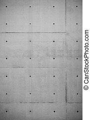 grunge, concreto, cemento, parete