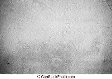grunge, concreto, cimento, parede