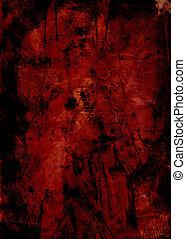 Grunge Construct Mono's - monoprints created on a glass...