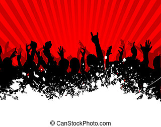grunge crowd