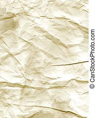 Grunge crumpled paper