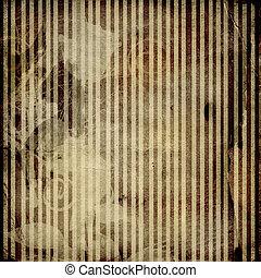 Grunge crumpled paper design in scrapbooking style