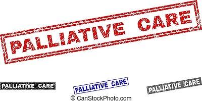 grunge, cuidado paliativo, arranhado, retângulo, watermarks