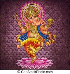 Grunge Dance Lord Ganesh