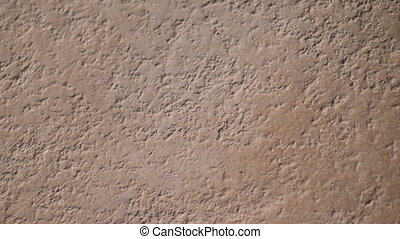 Grunge dark orange background wall of stone vintage for backdrop or decoration with place for text. Slow motion Full HD video footage