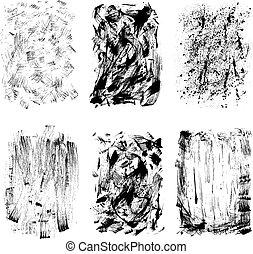 grunge, desenho, textura