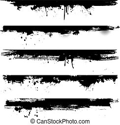 Grunge detail for borders - Detailed grunge elements ideal...