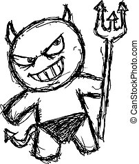 grunge devil