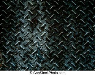 grunge diamond plates background