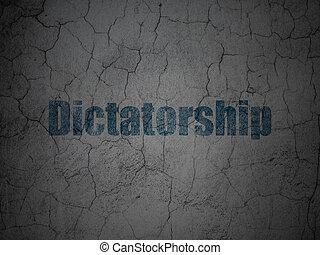 grunge, dictatorship, mur, politique, fond, concept: