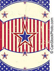 Grunge dirty US Background