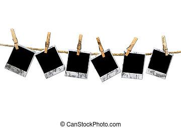 Grunge Dirty Vintage Polaroid Frames