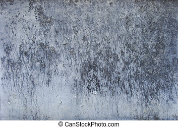 grunge dirty worn blue and gray wall