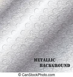 grunge, disegno astratto, fondo, metallico